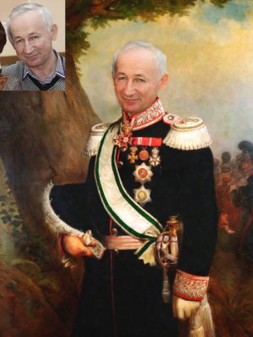 Где заказать исторический портрет по фото на холсте в Саратове?