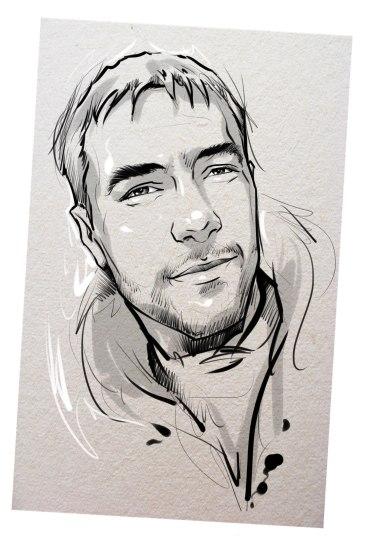 Портрет карандашом любимому мужу в Саратове…