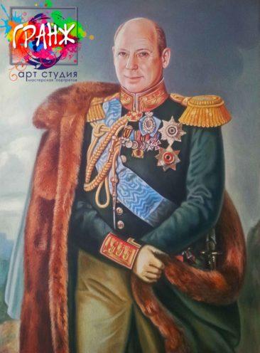 Заказать портрет маслом в Саратове