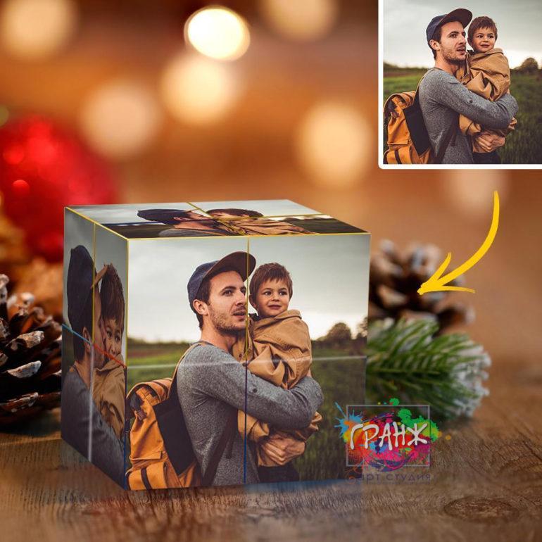 Фотокубик трансформер, купить в подарок Саратов